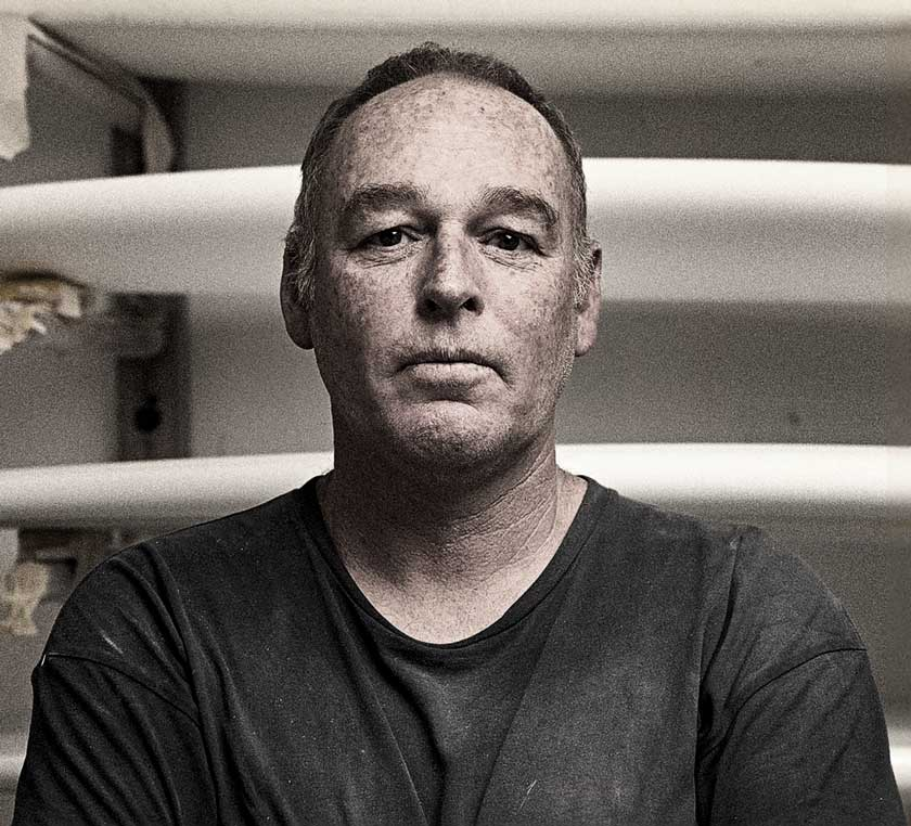 Expert laminator Mark Robinson
